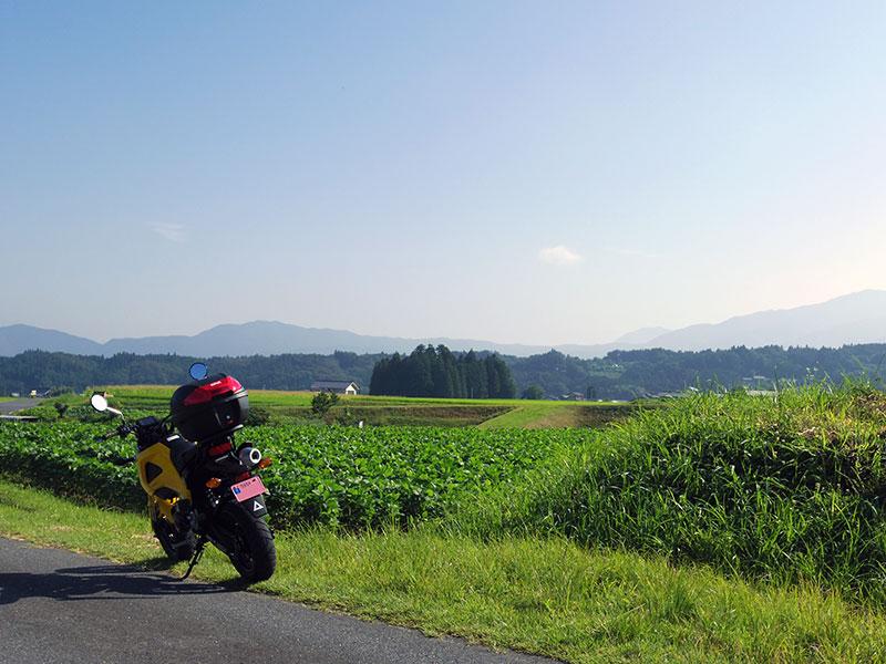 岩村の田園風景