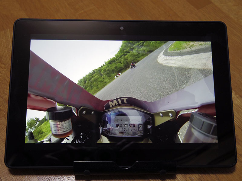 kindle Fire HDXで動画再生